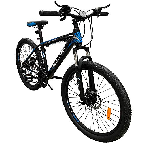 Challenger Blue Mountain Bike 26 Inch for Adult and Youth,...