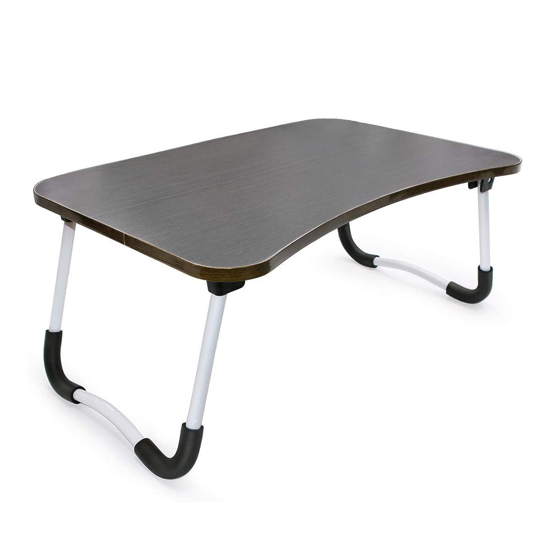 読みやすい性交憂鬱JINGJINGMAX ローテーブル ラップトップテーブル ピクニック軽量折り畳みテーブル 小さなダイニングテーブル 子供の勉強表 (ブラック)