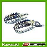 Estriberas Reposapies Titanio KAWASAKI KXF 250 450 SCAR