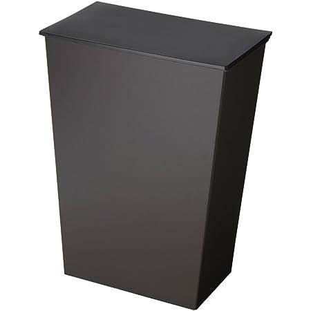 I'mD(アイムディ) ゴミ箱 クード シンプル ワイド ブラック KUDSP-WDBK