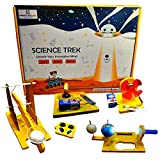 This kit includes 5 in 1 Combo Made in India Science DIY Activities. The activities includes Catapult, Day & Night Model of an Earth, Solar and Lunar Eclipse, Play with Motor , Electric Circuit with Switch. Best STEM Educational DIY Toy designed by e...