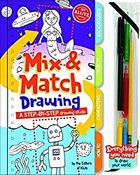 Mix and Match Drawing: A step-by-step drawing studio (Klutz)