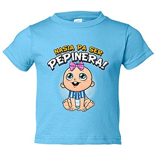 Camiseta niño nacida para ser Pepinera Leganés fútbol - Celeste, 9-11 años