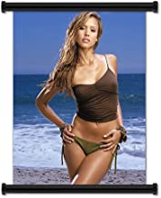 Jessica Alba Sexy Hot Actress Fabric Wall Scroll Poster (16