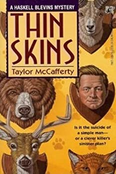 Thin Skins: A Haskell Blevins Mystery 0671799770 Book Cover