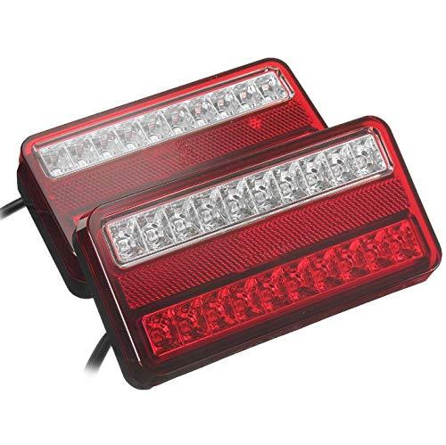 LED Anhänger Rückleuchte Rücklicht Set Rückleuchten PKW Landmaschinen PKW-Anhänger Wohnwagen Leuchte Blinklicht E11