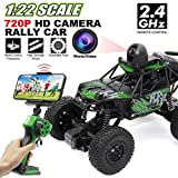RC Car with Camera 720P HD FPV, 1:22 Spy Remote Control Car with Camera, Remote Control Car for Kids and Teens with Camera, RC Spy Car Gift for Kids