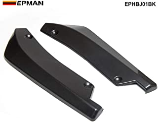 Auto-onderdelen 2PCS Spoiler Compatible with Car Universal Car Rear Bumper Lip Splitter Diffuser Chin Spoiler Canard Defle...