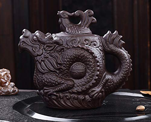 530 ml Creative Traditional Purple Sand Dragon Pan