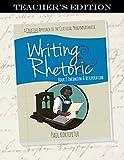 Writing & Rhetoric Book 7: Encomium & Vituperation Teacher