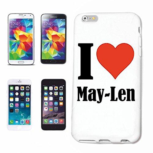 Beschermhoes voor Samsung Galaxy S6 Edge I Love May Len, geen Samsung-product of verkoop