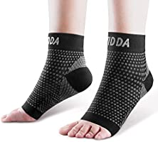 AVIDDA Plantar Fasciitis Socks with Heels Arch Supports, Compression Sleeves Ideal for Arthritis Pain Relief and Suitable...