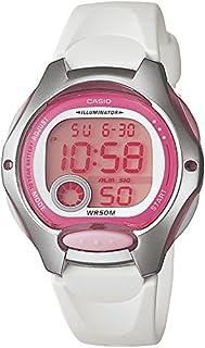 comprar comparacion Casio LW-200-7A - Reloj de Cuarzo para Mujer, con Correa de Goma, Color Blanco