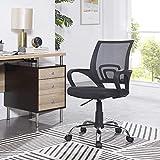 Naomi Home Ivana Swivel Mesh Office Chair Black