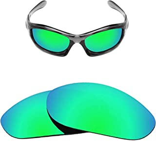 HEYDEFOAU Polarized Replacement Lenses for Oakley Monster Dog Sunglasses-Multi Options,with Lens Cloth