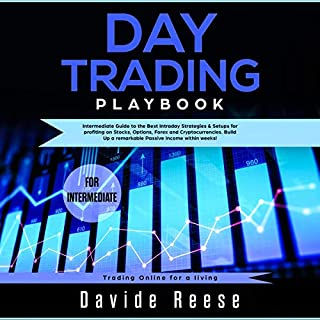 Day Trading Playbook: Intermediate Guide to the Best Intraday Strategies & Setups for Profiting on Stocks, Options, Forex and Cryptocurrencies audiobook cover art
