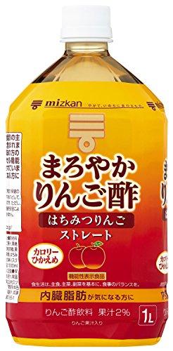 ミツカンまろやかりんご酢はちみつりんごストレート1000ml