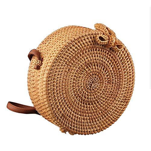 NCBH Rotan Tassen voor Vrouwen Handgemaakte herfst wijnstok strandtas exotische stijl rotan