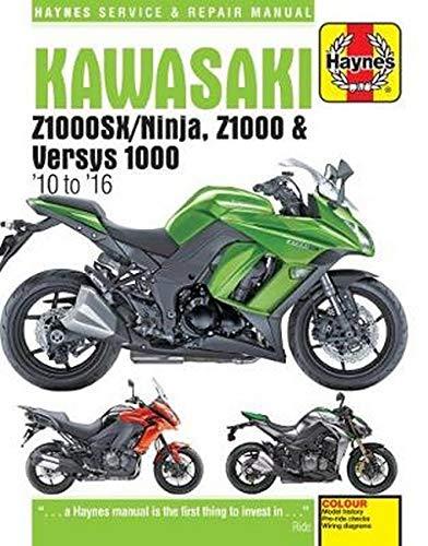 Coombs, M:  Kawasaki Z1000, Z1000SX & Versys ('10 - '16) (Haynes Service and Repair Manual)