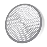 LEKEYE Shower Drain Hair Catcher/Strainer/Stainless Steel and Silicone...