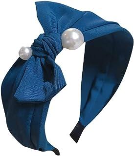 2 Stück dicke elastische Haargummis Haarbinder Zopfgummi Haarband grün blau