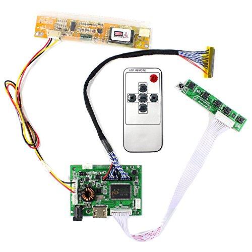 """Tarjeta de controlador de LCD de entrada de audio HDMI para 15.4 """"N154C3 LP154WP1 17"""" B170PW06 LP171WP4 Pantalla de LCD 1440x900 de 30 pines"""
