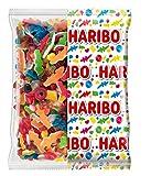 HARIBO Happy Life Assortiment de Bonbons Gélifiés Sachet Vrac, 2000 gramme
