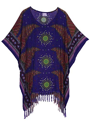 Beautybatik Boho Caftan Kaftan Tuniek Top Blouse 22 24 26