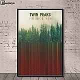 Aya611 Twin Peaks Poster Fernsehserie Zeigt Klassische