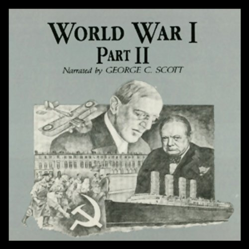 World War I, Part 2 audiobook cover art