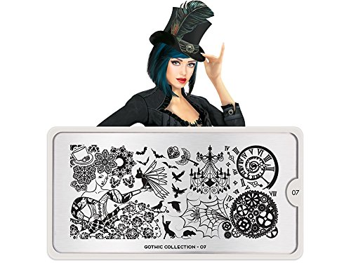 MoYou Stamping Schablone - Gothic 07