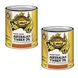 Cabot Australian Timber Oil V.O.C Natural 2 Gallon Pack