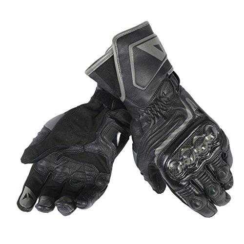 Dainese-CARBON D1 LONG Handschuhe, Schwarz/Schwarz/Schwarz, Größe XXL