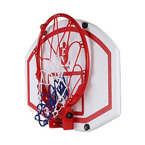 Transportable Korbanlagen Über Der Tür Basketballkorb Drinnen, Tragbares Klappbares Basketball Backboard für Kinder Teenager Erwachsene, 60 × 40 cm, Einfache Montage