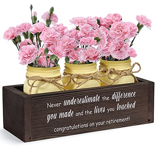 THYGIFTREE Retirement Gifts for Women, Happy Retirement Appreciation...