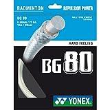 YONEX BG80 Cordaje de Bádminton 10m
