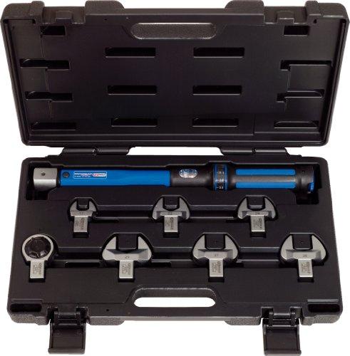 KS Tools 516.1225 ERGOTORQUE precision Kälte-Klima-Drehmomentschlüssel-Werkzeugsatz 20 - 100 Nm, 8-tlg.