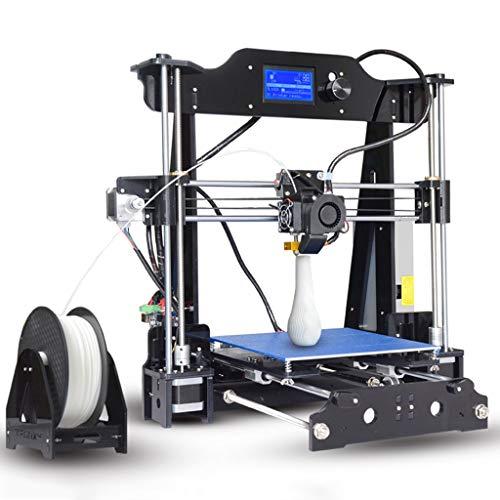 Maison Imprimante 3D, X8 Grande Taille Haute Précision Éducation De Bureau Ménage Imprimante, DIY