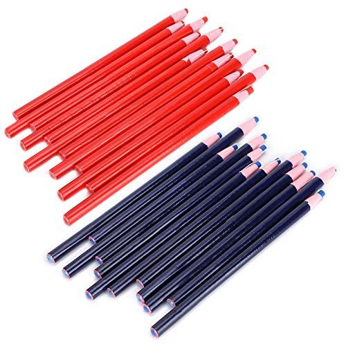 Herramientas de rastreo de marcado de Tailor, lápiz de tiza de corte libre, líneas transparentes, marca de costura, lápiz de tiza para sastres para marcar