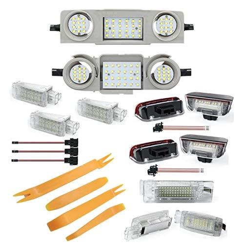 LED Innenraumbeleuchtung - Set aus Modulen (1Vo_1Hi_1Ha_1Ko_2Fu_2Sp_4Tu)