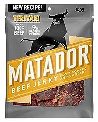 Matador Teriyaki Beef Jerky, 3 oz