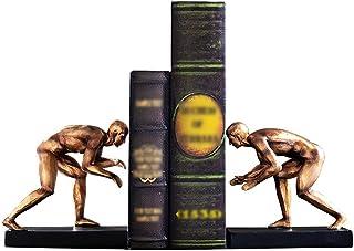 غلاف كتاب مزخرف من الراتينج الرياضي الشكل النحت للديكور المنزلي ينتهي كتاب للأرفف لحمل الكتب