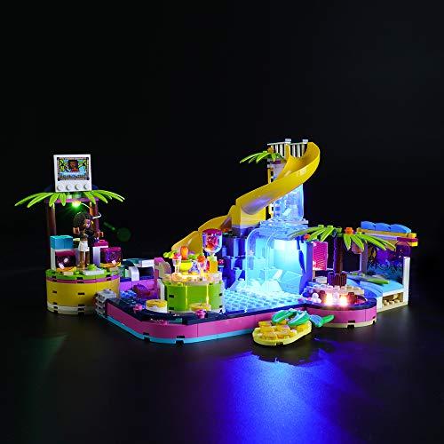 LIGHTAILING Licht-Set Für (Friends Andreas Pool-Party) Modell - LED Licht-Set Kompatibel Mit Lego 41374(Modell Nicht Enthalten)