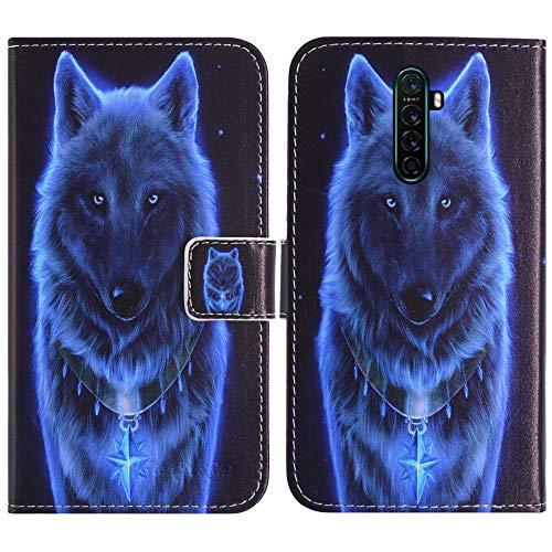 TienJueShi Lobo Función de Soporte Funda Caso Carcasa teléfono Case para XGODY Note 8 6.3 Inch Proteccion Cuero Cover Etui