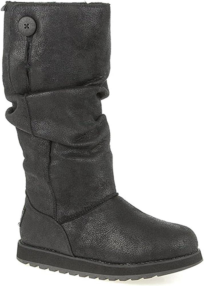 Skechers Women's Keepsakes-Leather-Ish Winter Boot