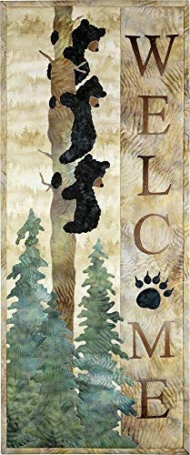Kit~McKenna Ryan~Welcome Bear Inn~ Applique Kit Laser Pre-Cut with Fabric 12 1/2