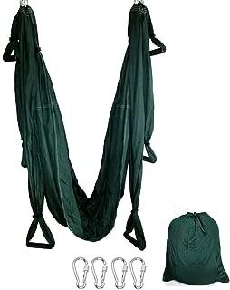 TDRTECH Aerial Yoga Swing, Hanging Yoga Trapeze/Hammock/Sling - Antigravity Inversion Swing for Beginners & Kids