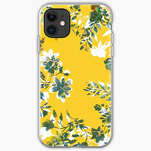 Flowers Decorative Floral Phone Skin Cover Tablet Yellow - Phone Case for iPhone 11, iPhone 11 Pro, iPhone XR, iPhone 7/8 / SE 2020… Samsung Galaxy