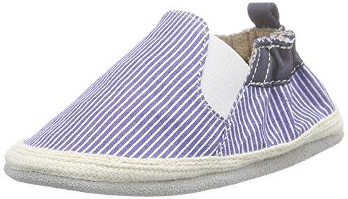 RobeezSummer Camp - Zapatos de Bebé para niño, Color Azul, Talla 0-6 Meses