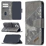 Cas de téléphone de haute qualité for iPhone 12 Mini assortie de couleur Crocodile Texture...